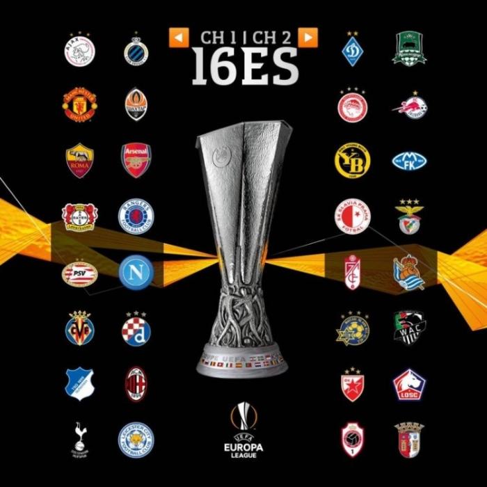 欧联杯32强
