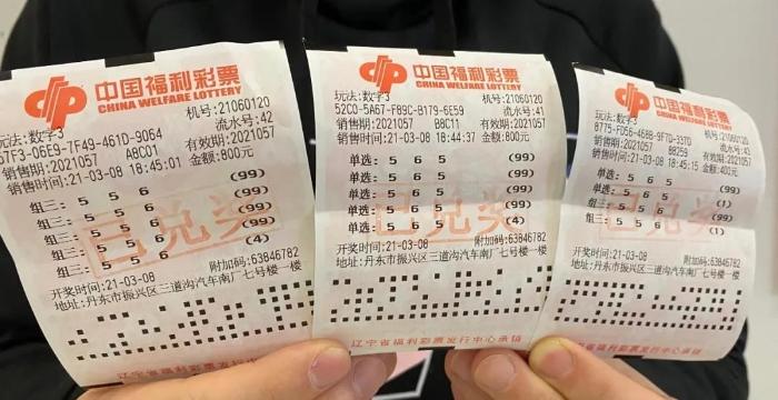 倍投屡建奇功!丹东资深彩友斩获3D大奖69.3万